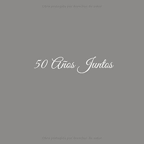 50 Años Juntos: Libro De Visitas 50 años juntos para Aniversário de Bodas de Oro accesorios decoracion ideas regalos eventos firmas fiesta hogar .