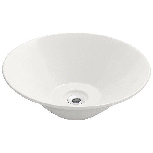 V220-B Bisque Porcelain Vessel Lavatory Sink