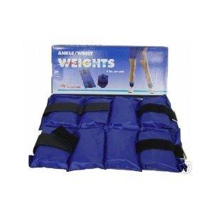 Ader Adjustable Ankle/Wrist Weights Set 6lb, 10lb