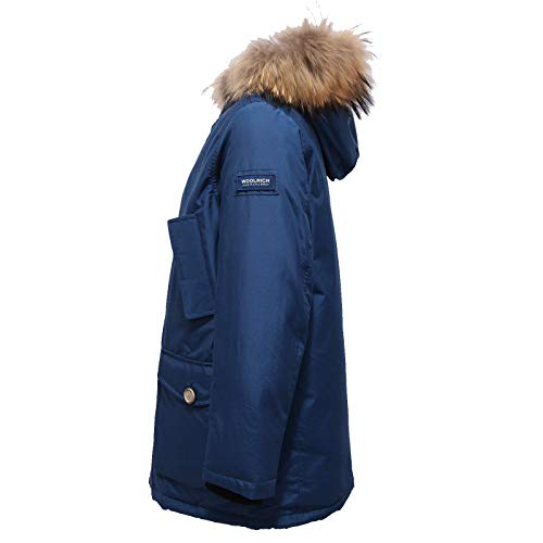 Woolrich 6386x Blu Detachabl Piumino Jacket Parka Bimbo Blue Boy qqwdtxrg8T