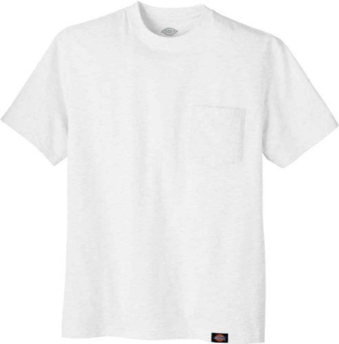 Dickies Men's Short-Sleeve Pocket T-Shirt White,5X-Tall by Dickies