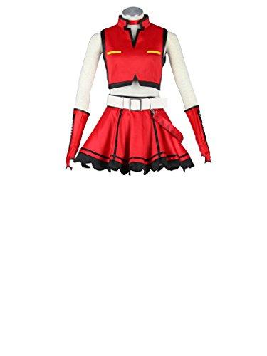 Mtxc Women's Vocaloid Cosplay Costume Meiko 1st Size XXXL-Plus Red