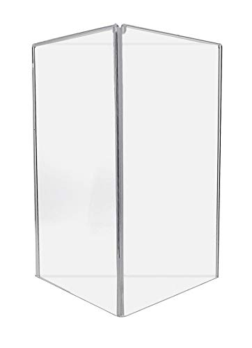 Marketing Holders Ad Frame Multi Sided Acrylic Display Stand 3 sided 11