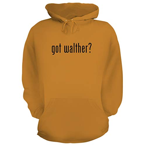 Laser Walther Cp99 - BH Cool Designs got Walther? - Graphic Hoodie Sweatshirt, Gold, XX-Large