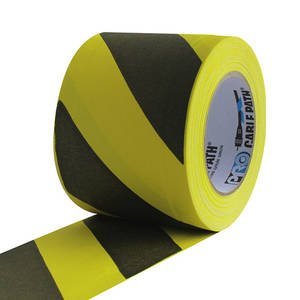 CPT3.00SS Cable Path Tape, 3'', 30 yds Black/Yellow 1 roll