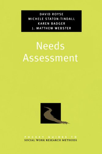 Needs Assessment (Pocket Guide to Social Work Research Methods)