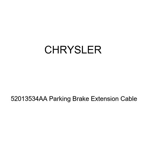 Genuine Chrysler 52013534AA Parking Brake Extension Cable