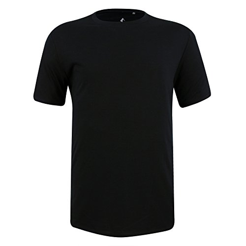 Ridge Merino Mens Ridge Journey T Shirt  Black  Xx Large