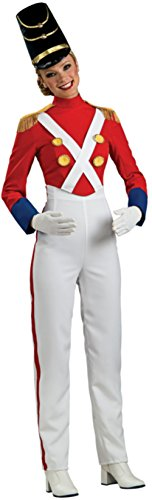 [Rubie's Costume Woman's Christmas Toy Soldier Costume, Multicolor, Small] (Woman Toy Soldier Costume)