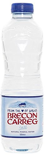 Brecon Mineral Water Brecon Natural Mineral Water 500ml Still (Pack of 24) by Brecon Mineral Water