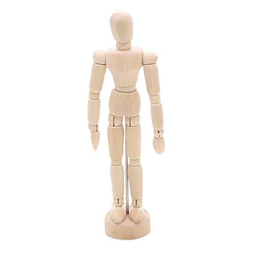 Action Figure Drawing Model, Artists Action Figure Model Jointed Movable Wooden Doll Joint Hands Art Model Ornaments for Sketching, Painting, Drawing, Cartoon Figures Action - Spider Man Model