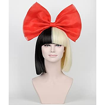 PuMaple Red Bow Sia Wig Big AccessoriesNo Wigs Included Ruby