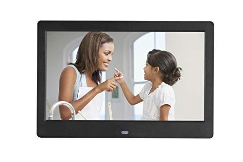 JIANGJIE Digital Photo Frame 10 Inch Widescreen 1024 * 600 HD Picture Video...