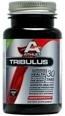 ATHLET TRIBULUS 1000 MG 30 TABS TEST TESTOSTERONE LIBIDO BOOSTER 45% SAPONINS