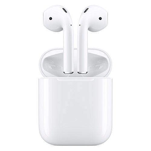 Price comparison product image Apple Airpods Wireless Bluetooth Headset for iPhones with iOS 10 or Later White