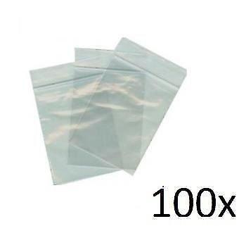 IRPot - 100 x Bolsas plástico transparente con banda ...