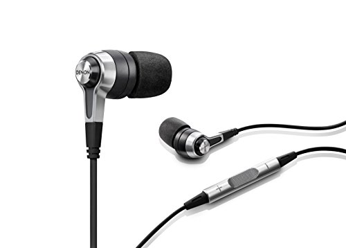 Denon AH-C620 In-Ear Headphones, Black