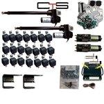 4 Door Lambo Doors - DOOR-LAMBO Door Kit Remote 2 Actuators 2 Solenoids 2 poppers remote 4 40 amp relays NO WARRANTY ON ACTUATORS caused by overload