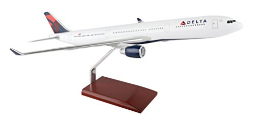 Airbus A330 300 - Daron Executive Series Delta Air Lines Airbus A330-300 Airplane Building Kit (1/100 Scale), 23