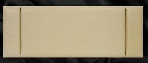 Cream Faux Leather Headboard - 6