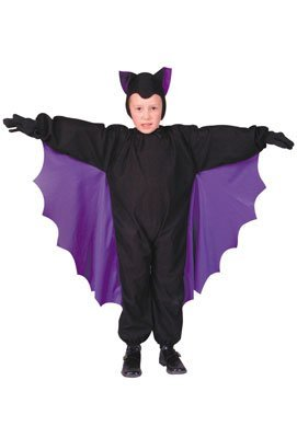 [Cute-T Bat Child Costume] (Kids Classic Vampire Costumes)