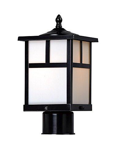 Maxim Lighting 4055WTBK Coldwater Outdoor Pole/Post Mount, Black by Maxim Lighting