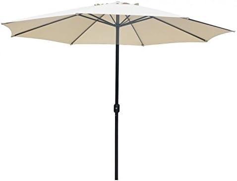 Vivaz Sombrilla Parasol de jardín crudo Ø 3, 5 mt: Amazon.es: Jardín