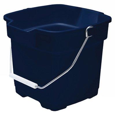 Rubbermaid 287100ROYBL 15 Quart Aquamarine Roughneck® Buckets (Storage Roughneck Tote)