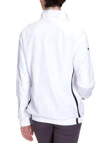 PUMA  - Chaqueta de fútbol sala para mujer Blanco / Negro (white-black)