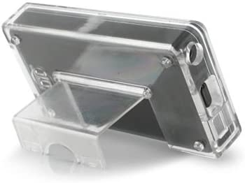 Black Snap On Plastic Case Screen Protector for Microsoft Zune 80GB 120GB