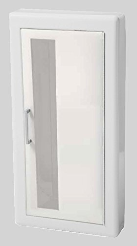 JL Industries 1017V10 Ambassador Cabinet-Vertical Duo Door-Primed Steel-Semi Recessed-3in Round Edge