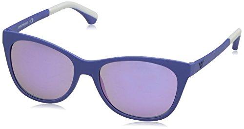 Armani Jeans - Lunette de soleil Mod.4046 - Femme Noir (Matte Violet 53434v)