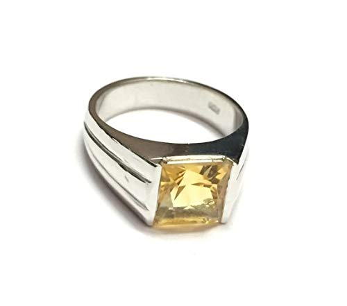 Sterling Silver Citrine Rings