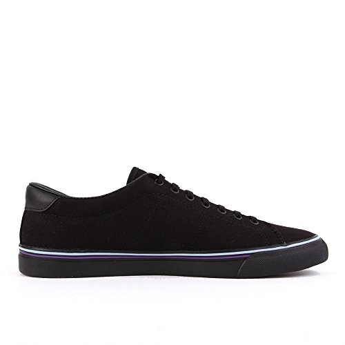 Fred Perry Underspin Canvas Black Blue Skin B9090102, Deportivas - 41 EU