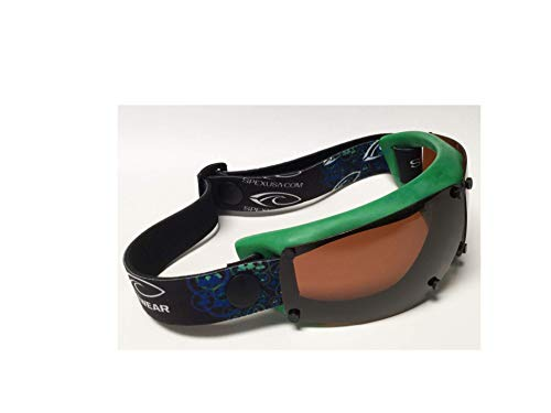 Spex Amphibian Eyewear- Limited Edition Color- Forest Green- with All Weather Polarized Lenses- Kitesurf, Jetski, Water Sport Goggles by Spex USA