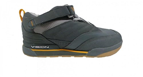 Vision Street wear Skate Shoes Since 1976 Grey/Orange