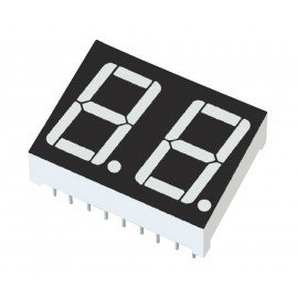 green 7 segment display - 5