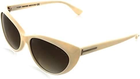 Tom Ford Women's  Martina Sunglasses, Ivory , 59-16-135
