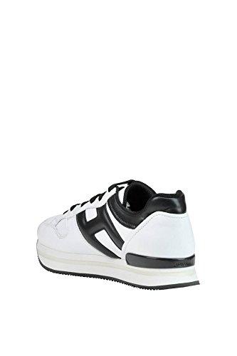 Hogan Ladies Mcglcak03031e Sneakers In Pelle Bianca