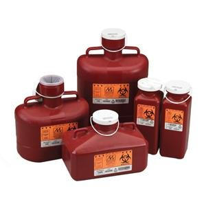 Medegen Medical Products 187 Non-Stackable Sharps Contain...