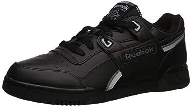 Reebok Men's Workout Plus Sneaker Black/Cold Grey/Cool Shadow 5 M US