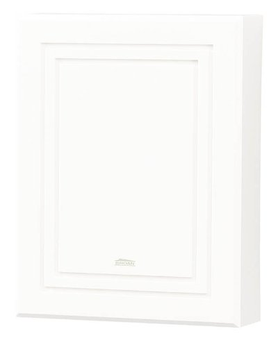 NuTone LA100WH Decorative Wired Two-Note Door Chime, White ...