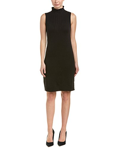 BCBGeneration Women's Sleeveless Sweater Dress, Black, ()