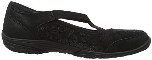 sweet Craze Para Negro Mujer Cordones black Black Zapatillas Sin Empress Skechers 5Fx4E7Y