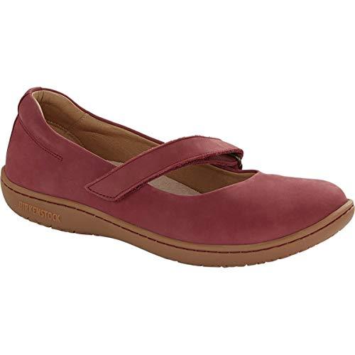 Birkenstock Women's Lora Shoe Wine Nubuck Size 40 M EU ()
