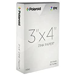 Polaroid M34030a 3x4 Zink Photo Paper For Polaroid Gl10