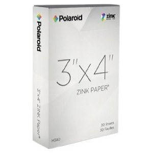 Polaroid M34030A 3x4 Zink Photo Paper for Polaroid - Buy Polaroid