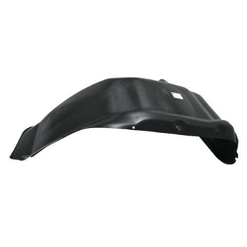 CarPartsDepot, Right (Passenger Side) Front Fender Liner Splash Shield New Replacement, 378-17158-12 CH1249104 55346052 (Splash 1500 Shield Replacement)