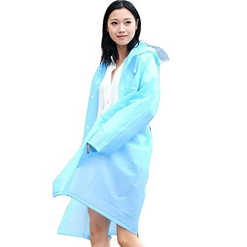 Casuales Battercake Thai Para Trekking Con Impermeable Chaquetas Mujeres Blau Aire Lluvia Adultos Montañismo Poncho De Capucha Sombrero Transparente Libre Al ppCg7wWqx