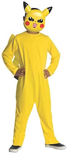 Pokemon Child's Pikachu Costume - One Color - Small ()